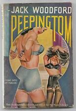 Peeping Tom by Jack Woodford- Novel Library 6 - Vintage Paperback