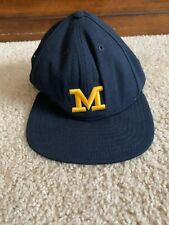 Vintage New Era Michican Hat 7 5/8 NCAA Football Made In The USA