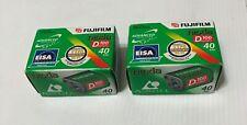 2 x FujiFilm Nexia APS D100 40 Exposure (OUT OF DATE FILM 1998-11)