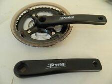 Guarnitura tripla acciaio PROWHEEL Pedivella alluminio bici bicicletta mtb B84