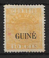 GUINEA PORTUGUESA YVERT Nº 11 NUEVO SIN GOMA