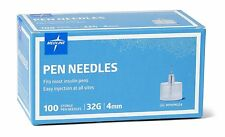 Agujas De Calibre 32G Para Plumas De Insulina Insumos Diabéticos