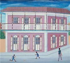 Pierre Antoine Cap Haitien Haiti Art Painting Listed Artist Philome Obin style