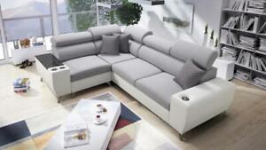Brand New Corner Sofa Bed With Storage Modivo II