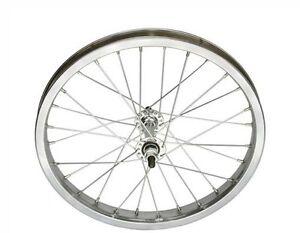 "BICYCLE FRONT WHEEL 16"" x 1.75 STEEL BEACH CRUISER LOWRIDER BMX CYCLING BIKE"