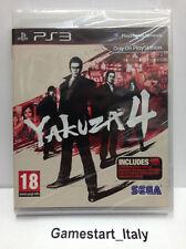 YAKUZA 4 + CONTENUTI EXTRA (PS3) VIDEOGIOCO NUOVO SIGILLATO NEW GAME PLAYSTATION