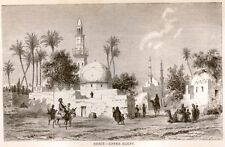 "Backsheesh by Knox -1875- ""SIOUT-UPPER EGYPT"""