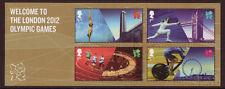 Gran Bretagna 2012 benvenuto ai Giochi Olimpici di Londra foglio miniatura BELLE USATO