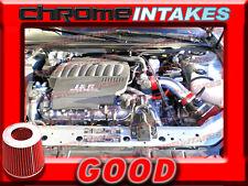 RED 04-08 PONTIAC GRAND PRIX GT GT1/2 GTP GXP 3.8L V6  5.3L V8 AIR INTAKE TB