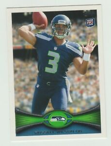 2012 Topps ROOKIE Russell Wilson #165 Seattle Seahawks RC