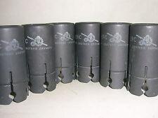 2 X US IERC tube shield used for 12AX7 12AU7 E88CC 6DJ8 6072 5687 ECC83 7025
