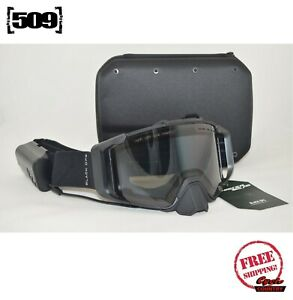 509 SINISTER X6 IGNITE SNOWMOBILE GOGGLE HEATED BLACK OPS POLARIZED AUTO-TINT