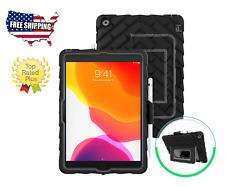 iPad case GumDrop Hideaway - Designed for iPad 10.2 7th Generation (2019), Black