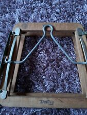 Vintage Wooden Dunlop Tennis Racket Press  Holder & Squash Racket Press / Holder