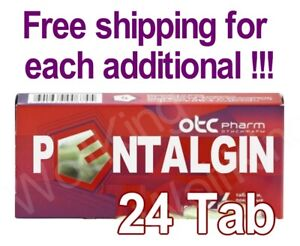 Пенталгин Pentalgin 24 Free shipping for Each additional!