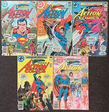Action Comics # 496 497 498 499 500 Lot Superman DC Comics