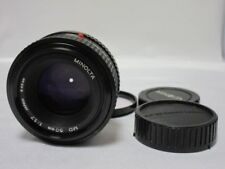 Objektiv: Minolta  MD  50mm  1:1.7  Ø49mm     5A1983