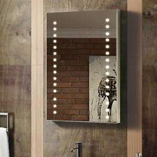 ENKI 400 x 600 Backlit Illuminated Bathroom Wall LED Mirror Vertical Horizontal