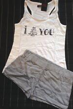 Ensemble pyjama short + débardeur taille M
