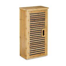 Relaxdays 10020301 Armadietto per bagno in legno di Bambù Grande (r5j)