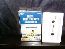 JOHNNY MATHIS THOSE WERE THE DAYS - ULTRA RARE AUSTRALIAN CASSETTE TAPE NM
