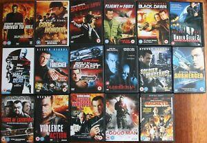 STEVEN SEAGAL DVD MEGA collection 17 DVDS joblot job lot bundle