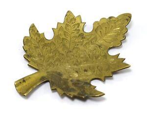Antique flower design cigarette ash holder small leaf shape home decor G7-904