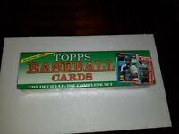 1990 Topps Baseball Complete Factory Sealed Set Ken Griffey Jr.  Frank Thomas