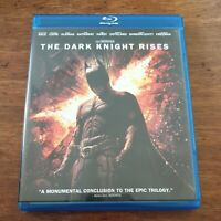 The Dark Knight Rises Bluray VERY GOOD - FREE POST