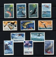 Australia Antarctic Territory 1973 Never Hinged UMM Full Set to $1 Sperm Whale