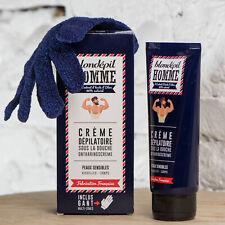 Blondépil pour Homme Crème dépilatoire zones intimes sous la douche gant inclus