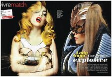 Coupure de presse Clipping 2012 (3 pages 1/2) Lady gaga