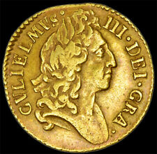 More details for rare king william the iii 1698 gold half guinea...