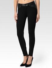 Paige denim luna ultra skinny, stretch leather, pant, black, s. 25, 29, 30, 32
