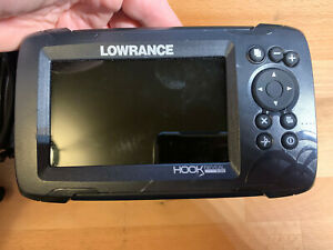 "LOWRANCE Hook Reveal 5x SplitShot Fishfinder w/ GPS 5"" Display Transducer Fish"