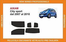 pellicola oscurante vetri aixam city sport dal 2007-2010 kit completo