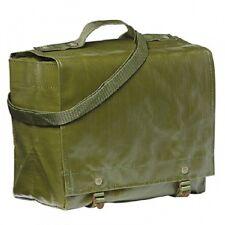 Military Army Surplus Czech Waterproof  Rubberized Shoulder Bag