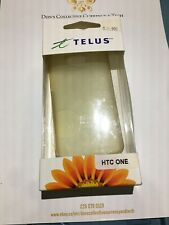 Telus Branded Gelskin For HTC ONE - Clear