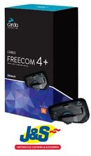 Cardo Scala Rider Freecom 4+ Single Communication System Motorcycle Intercom J&S