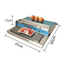 New 1PC 220V Food Tray Wrapper Film Wrap Sealer Sealing Machine For Fruit/Food