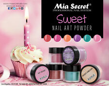 6pcs Mia Secret Professional Nail System Sweet NEW Collection Powder 6 colors