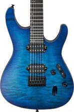 Guitarras eléctricas azules 6 cuerdas