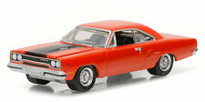 GREENLIGHT 1/64 GL MUSCLE SERIES 16 1970 PLYMOUTH ROAD RUNNER DIECAST CAR 13160