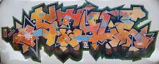 ZENOY - Impression sur sticker géant 96x40cm, 2006 NO COPE2/QUIK/SEEN/TAKI/CRASH