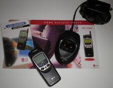 ORIGINAL LGC-330W CDMA CELLULAR PHONE DESKTOP CHARGER,USER GUIDE - LIKE NEW