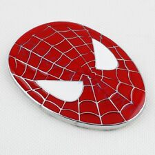 Auto Accessoires Rouge Style Spider Man Trim badge embllem Autocollant Décalque Garniture