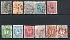 NORWAY , 1867 / 68 ,  1872 / 75 , TWO classic sets , USED , LOOK