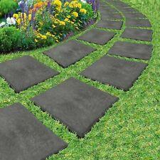 Stomp Stone Garden Stepping Stone Tiles Slate Paving Home Yard Walkway Plastic