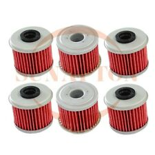 6 x Oil Filter For Honda TRX450R TRX 450R 2004 2005 2006 2007 2008 2009 ATV