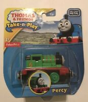 Thomas and Friends Toy Train Take N Play Percy die-cast metal Fisher Price